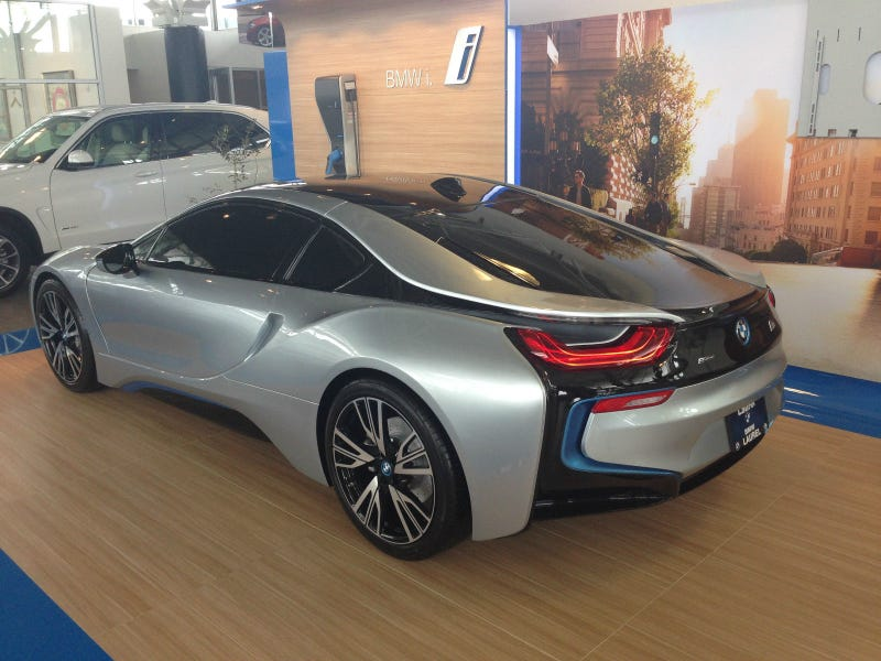 Here's The Full-Scale BMW i8 Model That You Never Knew You Wanted