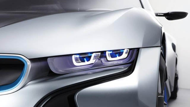 First look at BMW's new laser headlights