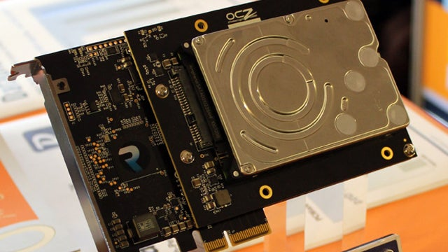 SSD + Hard Drive = OCZ RevoDrive Hybrid