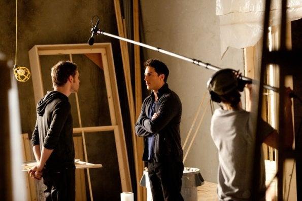 Vampire Diaries Episode 10 set pics