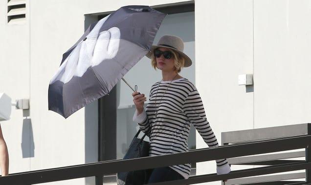 Jennifer Lawrence Has a Bad Case of the Mondays