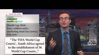 John Oliver Brilliantly Lays Out All The Reasons To Hate FIFA