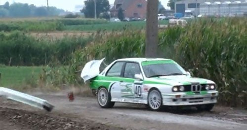 Why You Don't Put A Telephone Pole On A Rally Course