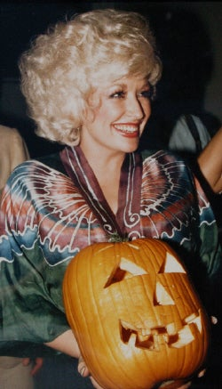 Dolly Parton Wishes You a Happy Halloween