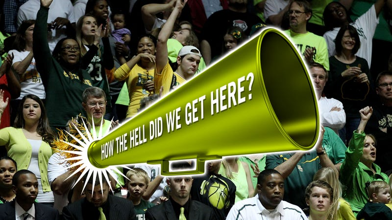 How The Heck Did We Get Here? The Baylor Faithful Wander Out Of The Desert