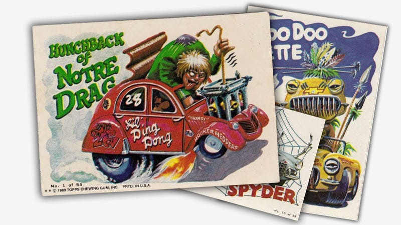 Enjoy These Hi-Res Scans Of Weird Wheels Trading Cards