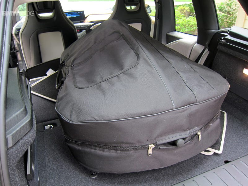 Can I fit my Bass in a BMW i3?