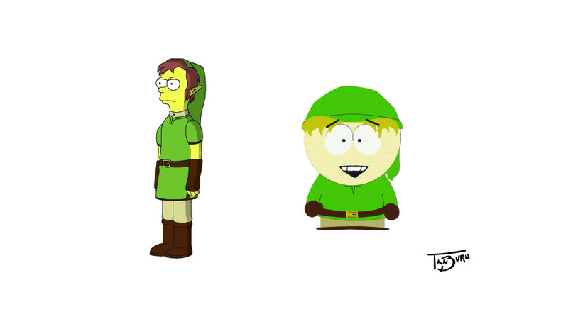 If The Legend of Zelda's Hero Appeared On More TV Shows...