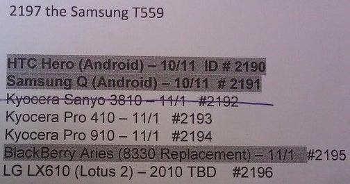 Is Sprint Landing the HTC Hero In October?