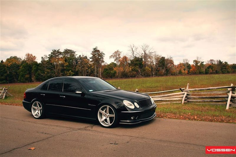 Found On The Ebays - Supercharged Business Attire: MB E55 AMG