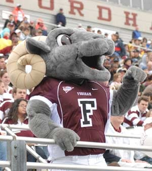 Mess With The Fordham Ram, You Get The Horns