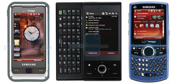 Next Month on Verizon: Samsung Omnia, HTC Touch Pro and More