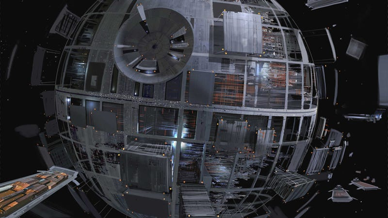 How The First Death Star Was Built