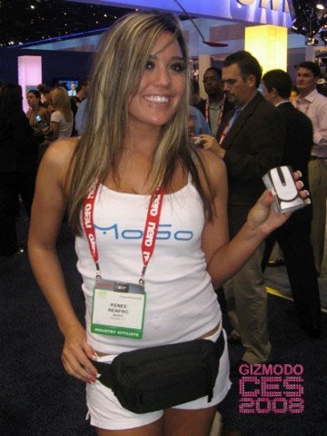 The CES 50-Babe Battle: Booth Babes vs. Regular Babes