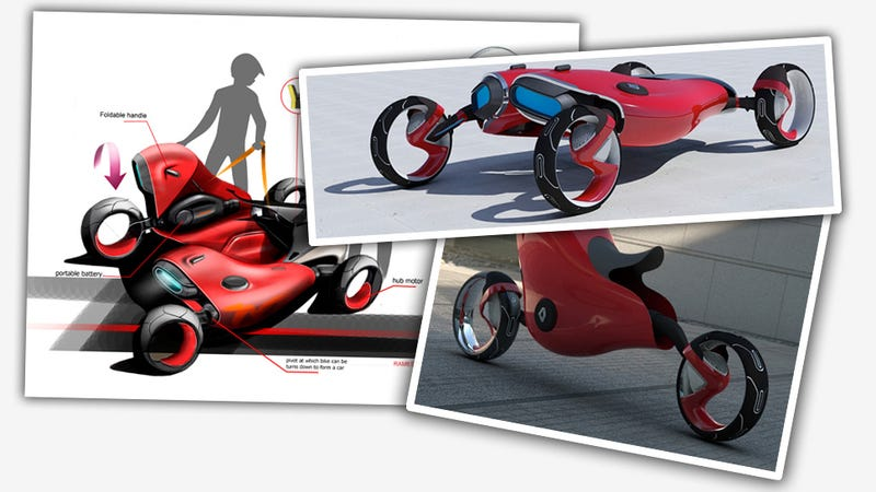 Cars Made From Two Motorcycles Are Sort Of A Thing