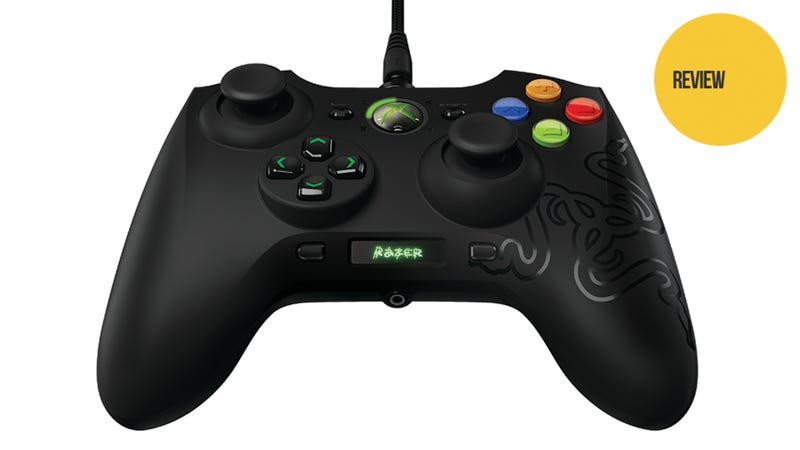 Razer Sabertooth Elite Xbox 360 Controller: The Kotaku Review