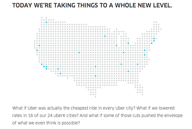"Uber Tells Drivers Price Cuts Are Just A ""Promotion"" for ""Slow Months"""