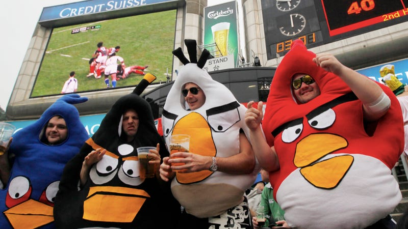Coming to a Sporting Event Near You: Angry Birds