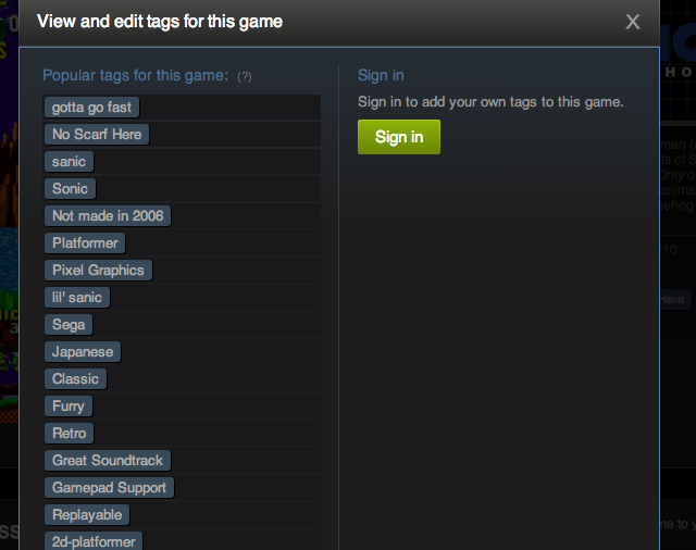 The First Day of Steam Tags Is Both Funny and Sad