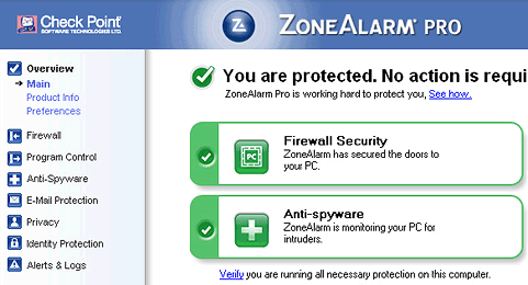 ZoneAlarm 2009 Pro Free Tomorrow Today Only