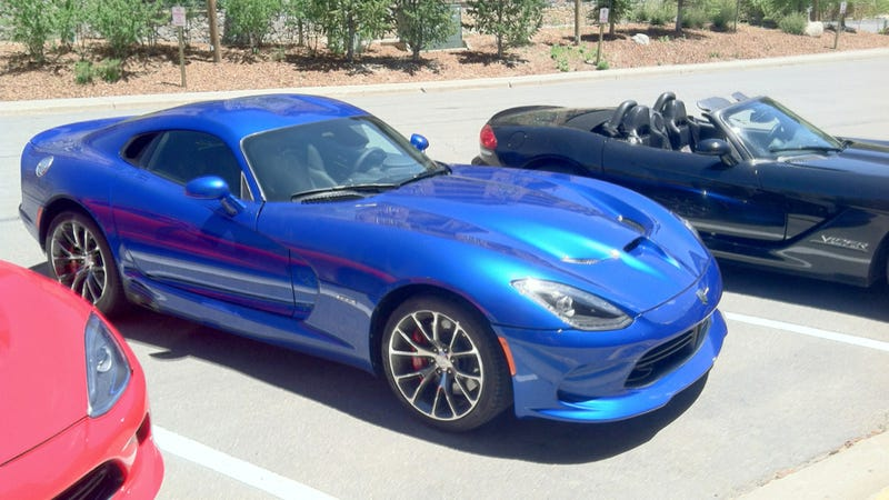 2013 SRT Vipers And Bacon Are As American As Vipers And Bacon