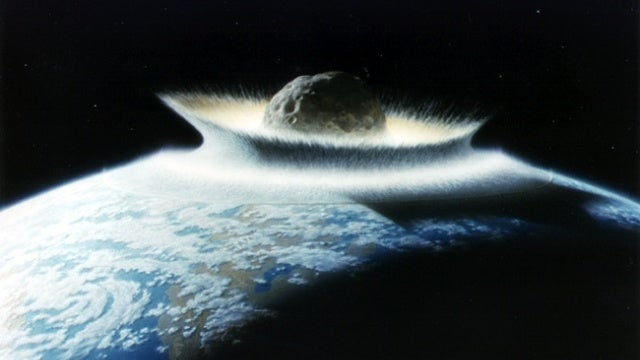 The asteroid that killed the dinosaurs might have created life in other solar systems