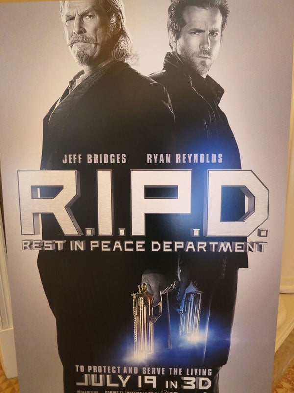 Check out Jeff Bridges and Ryan Reynolds as undead cops in RIPD