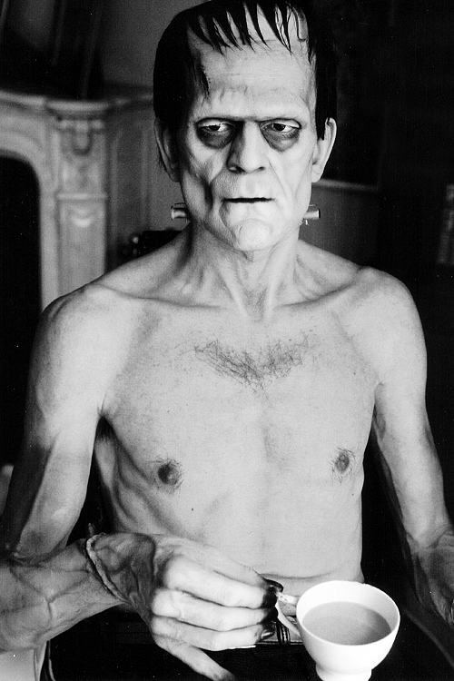 Boris Karloff: More Goth Than You Even When It's Tea Time