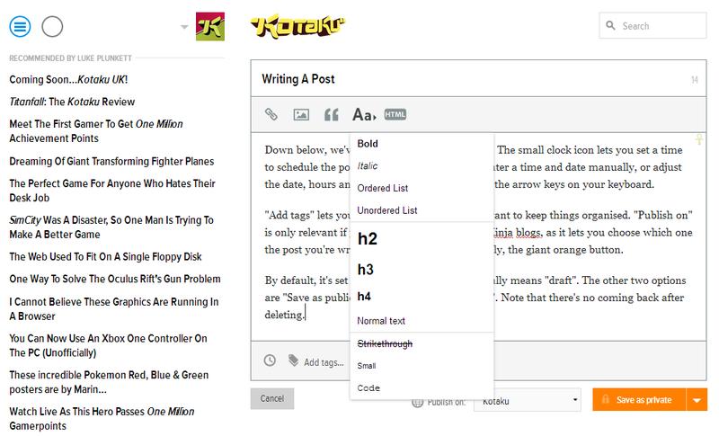 How To Read, And Use, Kotaku