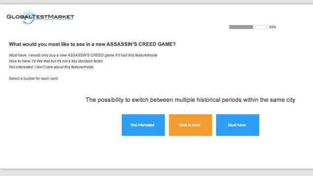 The 2013 Survey That Foretold The Future Of Assassin S Creed