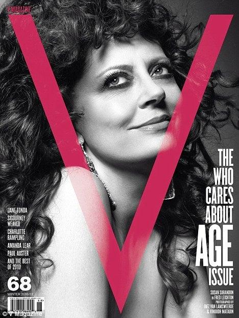 Susan Sarandon, Sigourney Weaver, And Jane Fonda Are High-Fashion Cover Girls