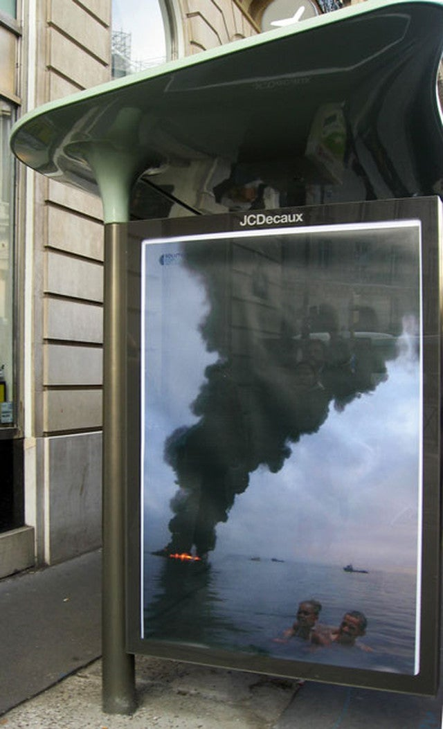 Paris Is Covered In Fake Ads That Mock the Climate Talks' Corporate Sponsors