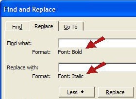 MS Office Tip: Search and replace Word formatting