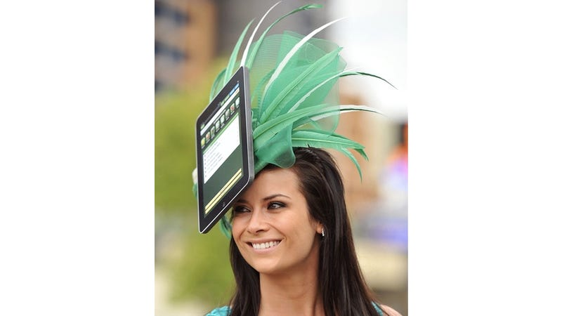 Totes Hot for Summer '11: Giant Ridiculous iPad Hats!