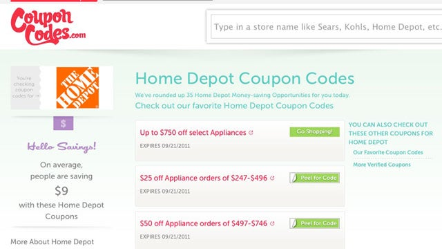 CouponCodes Relaunches, Aggregates Discount Codes for Thousands of Retailer Web Sites