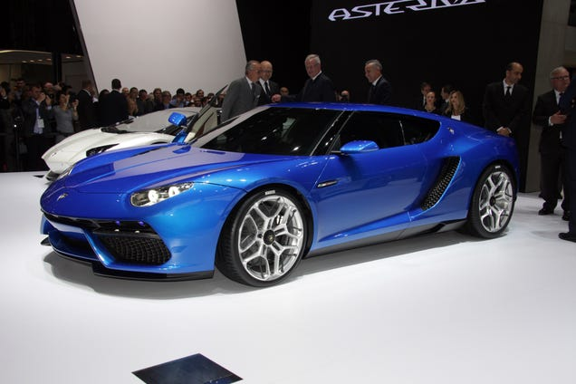 The 910 HP Lamborghini Asterion Is The Most Desirable Compromise Ever