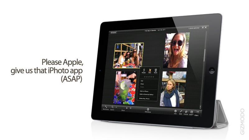 iPhoto'11 on the iPad Feels Exactly Like an iPad App
