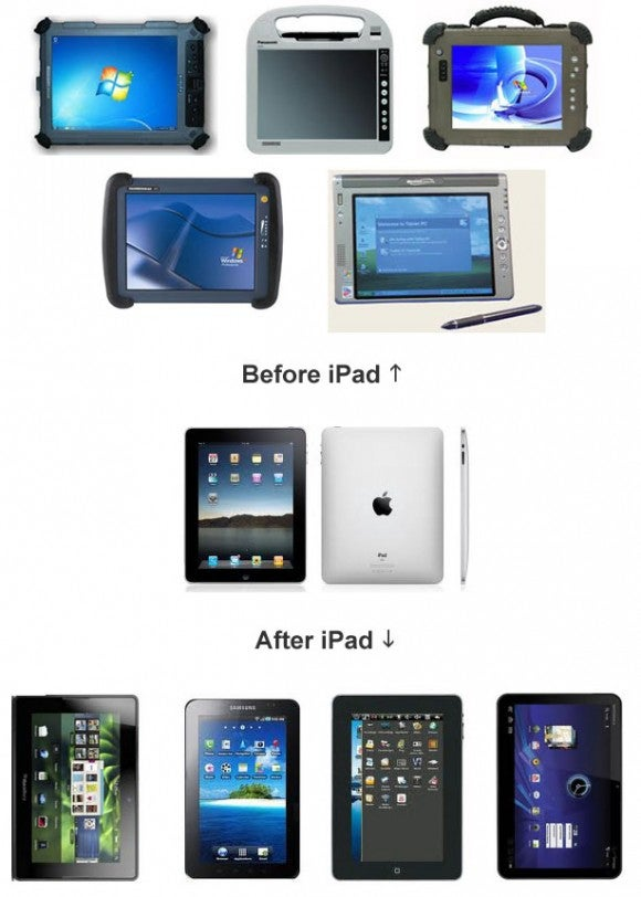 What Tablets Looked Like Before the iPad And What They Look Like Now