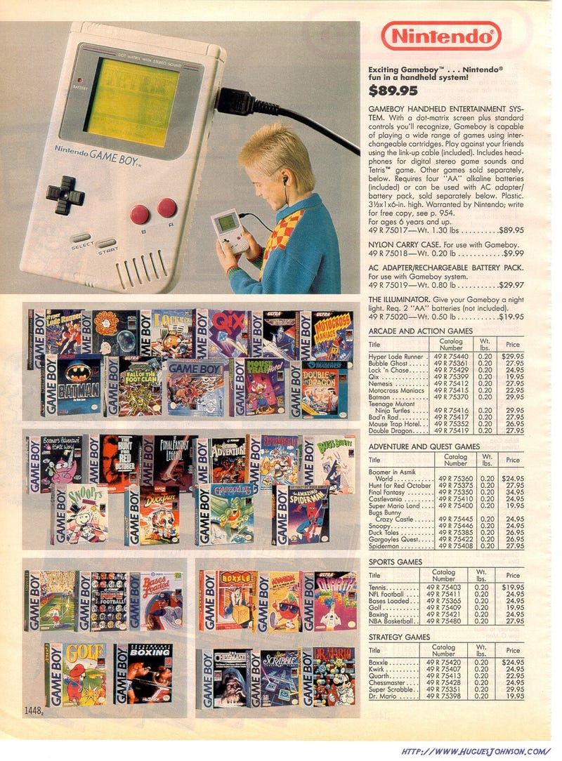 Let's Go Shopping For Video Games! (In the 1980's and 1990's)
