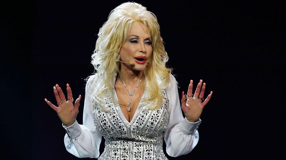 Dolly Parton's Boobs and Arms Are Covered in Secret Tattoos