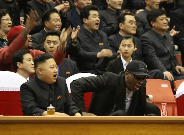 "The U.S. State Department Actually Clarified That Dennis Rodman ""Has Never Been A Player In Our Diplomacy"""