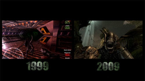 Aliens Vs. Predator, Then And Now