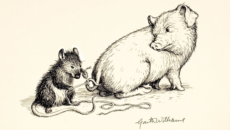 Read E.B. White's poignant explanation for writing Charlotte's Web