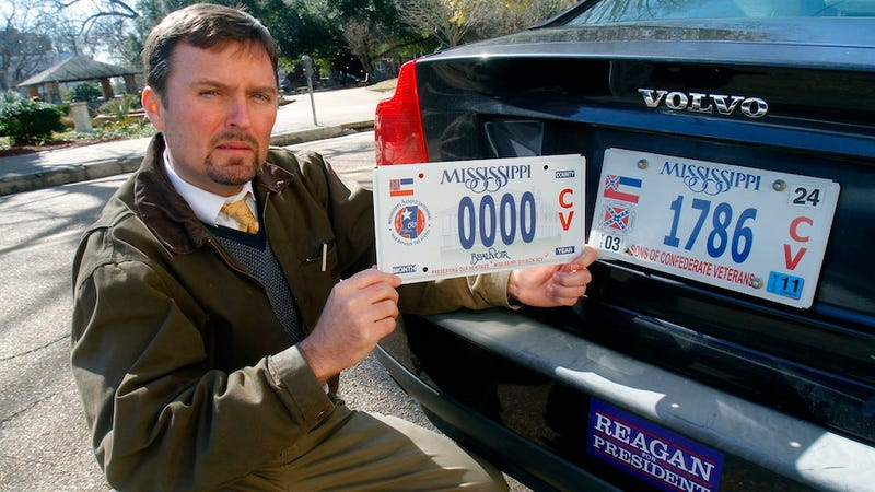 Should a KKK Grand Wizard Get a Special License Plate?