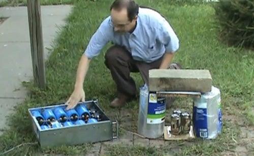 Test-Firing of 2000 Volt Washer Launcher a Success
