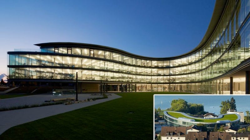 Five Cutting-Edge Buildings From Google's New Campus Architects