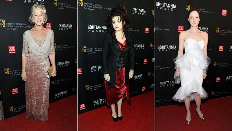 Helen Mirren & Helena Bonham Carter Rep Different Ends Of The Workin' It Spectrum