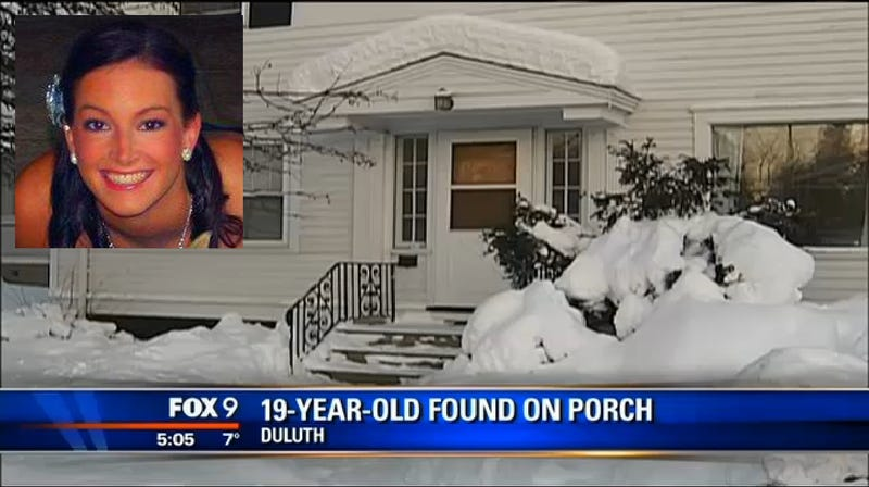 College Student Could Lose Limbs After Passing Out on Freezing Porch