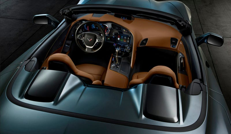 2014 Corvette Convertible: This Is The Back Of It