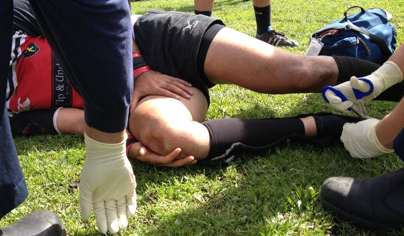 Today's Horrific Rugby Injury: Exploded Patella